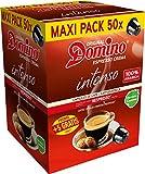 CAPSULES DE CAFE COMPATIBLES NESPRESSO  DOMINO INTENSO 50 CAPSULES + 5 GRATUITES
