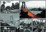 Olimpia Design Fototapete Comic-Städte, 1 Stück, 10675P4