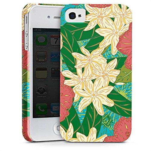 Apple iPhone X Silikon Hülle Case Schutzhülle Blumen Muster watercolor Premium Case glänzend