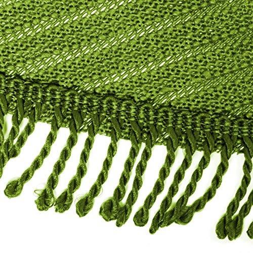 Casa pura tovaglia plastica wonderland | da tavolo | cerata | resistente alle intemperie | rotonda | 140 cm | verde
