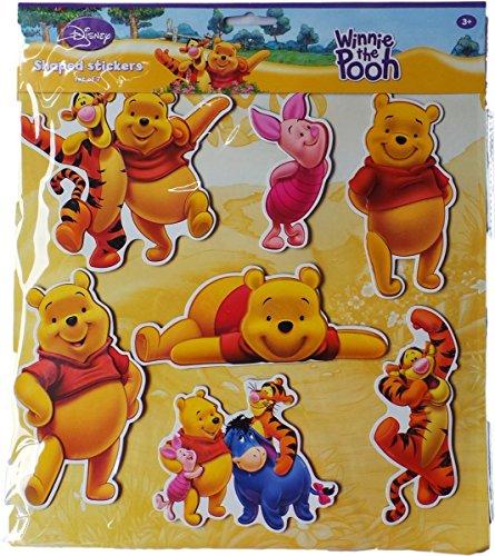 nd Freunde - Ausgestanzte XL-Sticker - 14 Stück (Winnie Pooh Und Freunde)