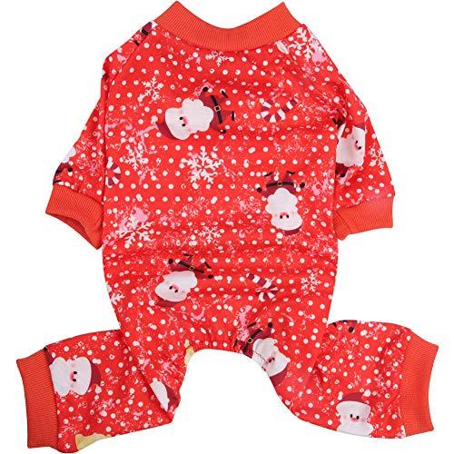 Lamphy Weihnachtspyjama für Hunde (Custom Made Mädchen Kostüm)