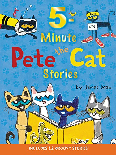 Pete the Cat: 5-Minute Pete the Cat Stories: Includes 12 Groovy Stories! (Kart Cat)