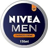 NIVEA MEN Fairness Creme, Face, Body & Hands, Fair & Even Skin Tone, Tin, 150ml