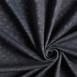 Fabulous Fabrics Romanit Jersey Rautenmuster – anthrazit — Meterware ab 0,5m — zum Nähen von Kleidern, Hosen und Röcken