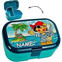 alles-meine.de GmbH Lunchbox / Brotdose - Schatzinsel & Pirat - BPA Frei - mit Extra Einsatz /.. preisvergleich bei kinderzimmerdekopreise.eu