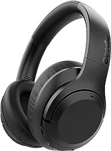 BesDio 2019 Bluetooth-Kopfhörer, mit Geräuschunterdrückung, aktive Geräuschisolierung, Over-Ear-Headsets mit tiefem Bass, Schnellladung, 30 Stunden Spielzeit, CVC 6.0 Mikrofon