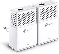 TP-Link TL-PA7010 KIT Powerline Adapter (1000 Mbit/s Powerline, 1x Gigabit Port, Plug & Play, energiesparend, kompatibel zu allen gängigen Powerline Adaptern) weiß
