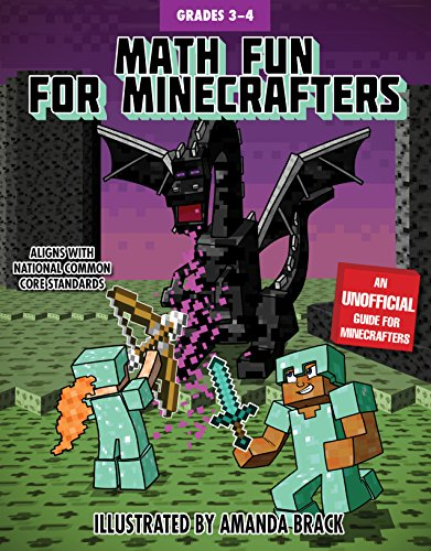 fters: Grades 3-4 (Math for Minecrafters) (Math Games Grade 4)