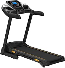 Fit24 Fitness T-509S Motorized Treadmill with Auto Lubrication and Blutooth Enable