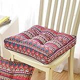 QY&LA Komfort-sitzkissen Verdicken, Esszimmerstuhl Sessel Gartenstuhl Riser Kissen, Atmungsaktive Sitzerhöhung-F 40x40cm(16x16inch)