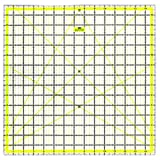 #3: Imperial Design Template Quilting Ruler, Acrylic, Transparent, 15 x 15 inch