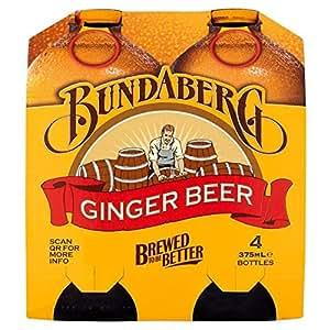Bundaberg Ginger Beer 4 x 375ml