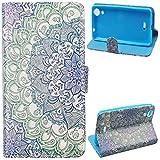 Voguecase® für Wiko Rainbow Lite, Kunstleder Tasche PU