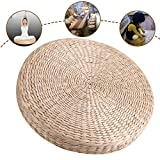 Best Yoga Cushion - Outgeek Yoga Mat Floor Cushion Handmade Natural Straw Review