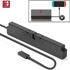 Einfacher Stecker Dock und Ladegerät Verlängerungskabel für Nintendo Switch, USB 3.1 Typ-C-Kabel, 10 Gbps Datenübertragungsrate - 60cm