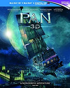 Pan (Blu-ray 3D) [2016] [Region Free]