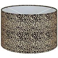 New Beautiful Leopard Print Metallic Light Shade - Boasts an on-Trend Animal-Print Design