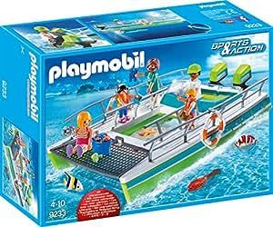 Playmobil 9233 Glasbodenboot Mit Unterwassermotor Amazon De