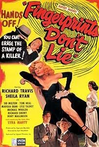 Fingerprints Don't Lie Affiche du film Poster Movie Les empreinte digitale ne mentent pas (11 x 17 In - 28cm x 44cm) Style A