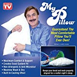 Mypillow Best Deals - My Pillow Non-Allergenic and Anti-Microbial Pillow with Built-In Cooling Effect (KING) by MyPillow Inc