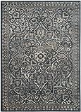 Safavieh Cordova Gewebter Teppich, VTG175-7330, Blau/Hellgrau, 243 X 340 cm