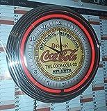 HORLOGE NEON CLASSIC COCA COLA ATLANTA SIGN AVEC NEON ROUGE! DIAMETRE Ø 38 cm !