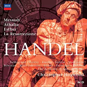 Händel - Messiah · Athalia · Esther · La Resurrezione / AAM · Hogwood