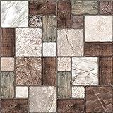 24 stück Fliesenaufkleber für Küche und Bad (Tile Style Decals 24xNTP 0- 6