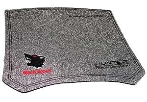Gaming tapis de souris de gaming wild wolf hunter precision surface pad pour gamer en tissu de qualité!