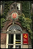 121071 Post Office Building Aalborg A4 Photo Poster Print