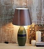 Green Vase Ceramic Lamp