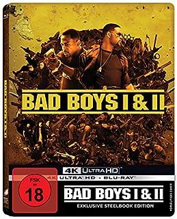 Bad Boys - Harte Jungs & Bad Boys 2 (exklusiv bei Amazon.de) (Steelbook) [4 Discs, 2x UHD/ 2x Blu-ray] [Limited Edition]