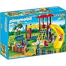 Playmobil Area Gioco Esterna per Bambini, 5 Pezzi,, 5568