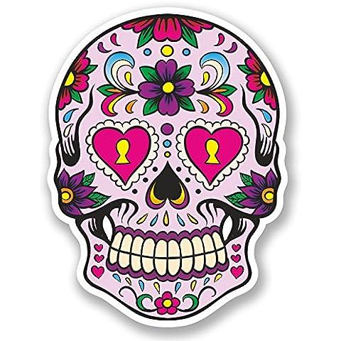 5669adesivo in vinile, motivo: messicano del giorno