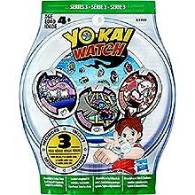 Yokai B5944 - Sachet Mystère de 3 Médailles, coloris aléatoire