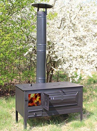 outdoor k chenofen garten herd gartenk che alfons. Black Bedroom Furniture Sets. Home Design Ideas
