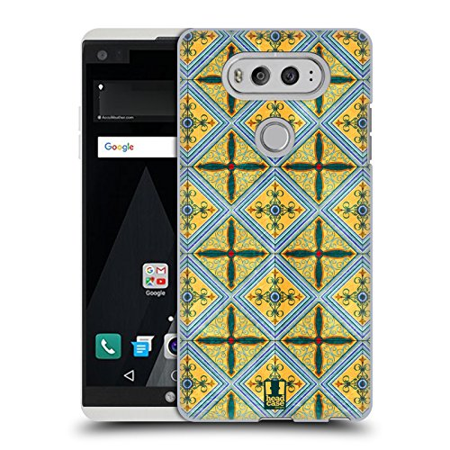 616iFq0aOUL - NO.1 BEAUTY# Head Case Designs Ceramic Arabesque Pattern Hard Back Case for LG V20 Reviews  Best Buy price