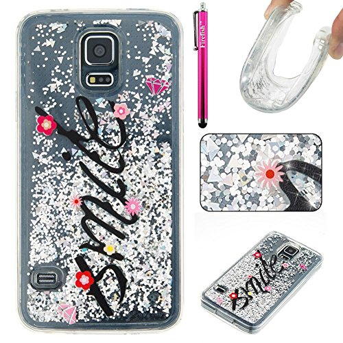 galaxy-s5-case-firefish-slim-sparkle-shock-absorption-slim-bumper-cover-anti-slip-soft-silicone-prot
