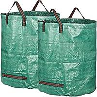 GardenMate 2X 500L Sacchi da Giardinaggio Professional - Sacchi per rifiuti da Giardino - Polipropilene (PP) 150gsm - Robusto, antistrappo, Idrorepellente