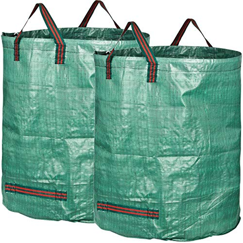 *GardenMate 2X 500l Gartensack Professional aus robustem Polypropylen-Gewebe (PP)*