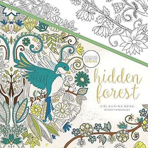 Kaisercraft CL516 Hidden Forest Livre de coloriage Papier Multicolore 25 x 25 x 0,6 cm