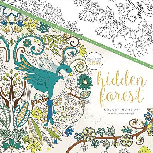 Kaisercraft Malbuch Hidden Forest, Paper, Multicolour, 25 x 25 x 0.6 cm