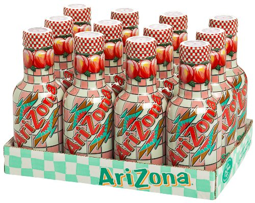 ARIZONA Peach Iced Tea 12 x 500 ml PET EINWEG