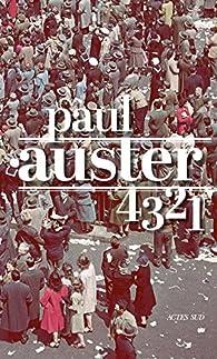 4 3 2 1 par Paul Auster