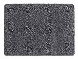 andiamo Schmutzfangmatte Sauberlaufmatte Fußmatte - Indoor/Outdoor Matte - waschbar, in 4 Farben erhältlich, Farbe:Grau, Größe:60 x 100 cm