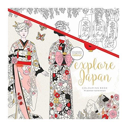 Kaisercraft explorar Japón Coloring Book, multicolor
