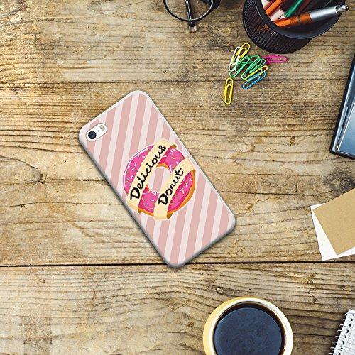 iPhone SE iPhone 5 5S Hülle, WoowCase Handyhülle Silikon für [ iPhone SE iPhone 5 5S ] Japanische Kunst Traditionelle Ornament Handytasche Handy Cover Case Schutzhülle Flexible TPU - Transparent Housse Gel iPhone SE iPhone 5 5S Transparent D0559