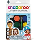 Snazaroo 1180103 Adventure Face Paint Palette Kit