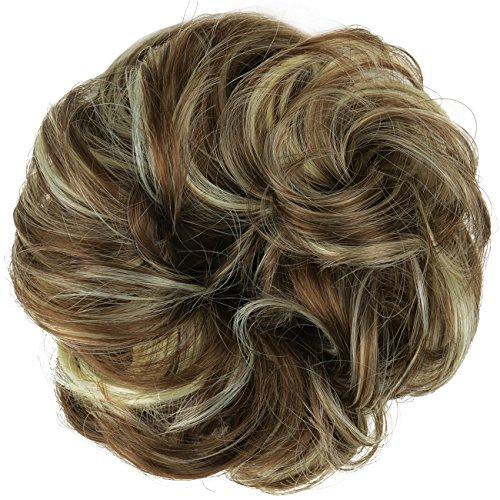 Feshfen - Coletero extensiones cabello forma donut